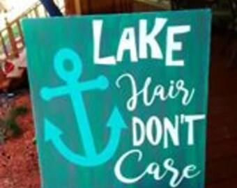 Lake Hair, Don't Care