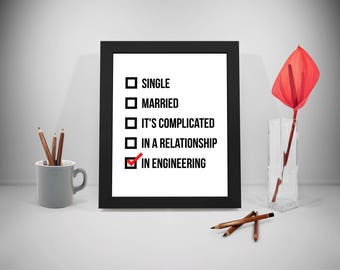 Engineer, Engineer Gifts, Engineer Prints, Engineering, Engineering Prints, Engineering Art, Engineering Poster, Engineering Wall Art,
