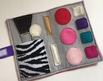 Felt Folding Makeup Set