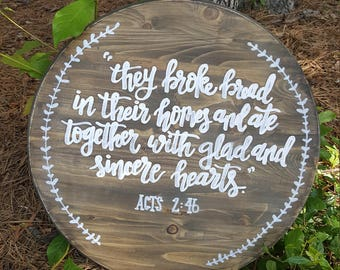 Together- table centerpiece or wall hanging