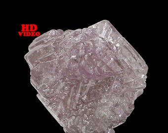 0.97 Ct Natural Loose Diamond Rough Natural Shape Pink Color 5.40X5.20X4.60 MM I3 Clarity N4948