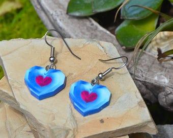 Earrings | Legend of Zelda | Heart Piece