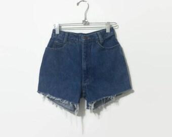 1990s Calvin Klein Denim Cut-off Shorts 24W