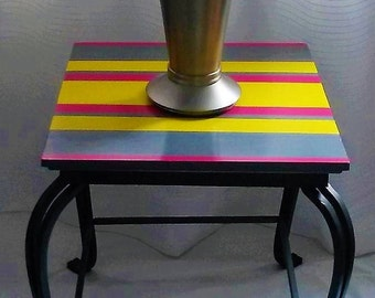 Upcycled table, upcycled side table