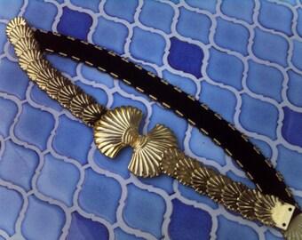 Vintage Mermaid Shell Belt
