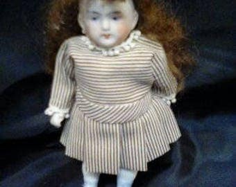 Antique All Bisque Doll