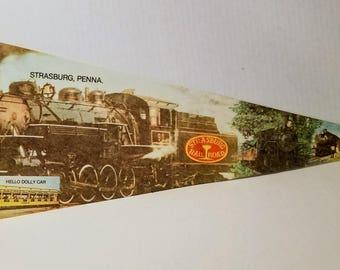 Strasburg, Pennsylvania - Vintage Pennant