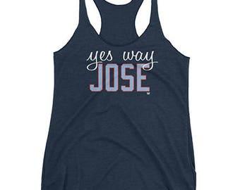 Yes Way Jose - Jose Quintana - Chicago Cubs - Women's Tank