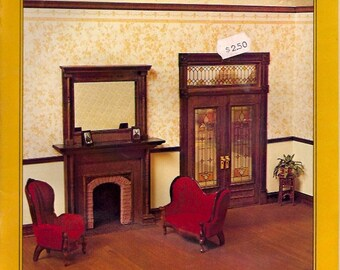 THE VICTORIAN PARLOR-Interior Trim Carpentry in Miniature