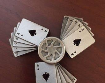 Royal Flush Poker Fidget Spinner
