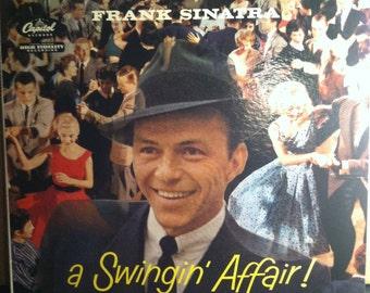 Frank Sinatra A Swingin Affair Vinyl Record Album