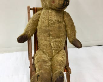 Collectable Teddy Bear and Deck Chair
