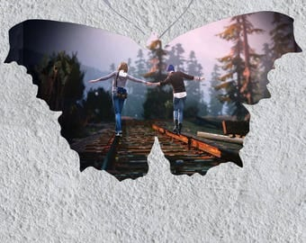 Life is Strange Max and Chloe original poster Butterfly effect hot video game print