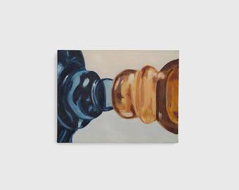 Balancing Heat - Original Painting - Oil on Canvas