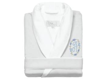 Luxe Spa Robe, White