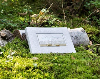 White Wedding Photo Album - Luxury Wedding Album - Photo Album - Picture Album - High Quality Photo Album - Personalized Photo Album - Gift