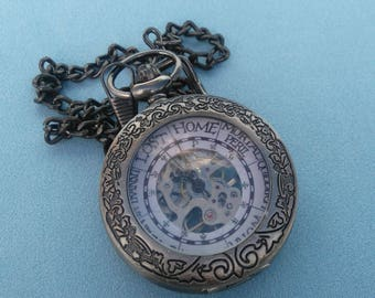 Harry Potter The Weasley family Clock inspired Pocket Watch