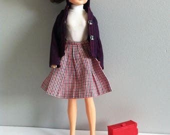 Sindy flight attendant outfit, mixed lot of Sindy and Dusty Air hostess clothes.