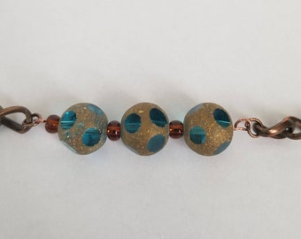 Antique Gold Minimalist Bracelet