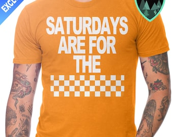 Official Saturdays are for the Checkerboard Shirt, University of Tennessee Shirt, Tennessee Vols Shirt, Vols Football, Saturday Rocky Top