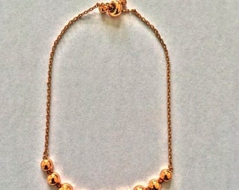 Buy one get one free/ Beaded Gold Adjustable string bracelet/beautiful/gift/free shipping