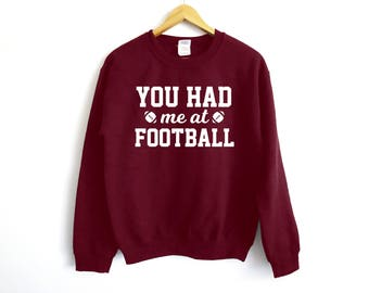 Let's Hear It For The Boys - Football Sweater - Game Day - Cheerleader Sweater - Super bowl Sweater - Game Day - Wife Football Sweater