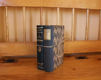 Decorative Vintage Book Set