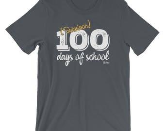 Funny 100 days of school Tshirt