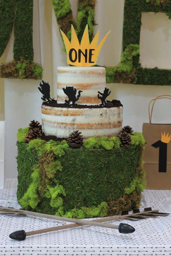 Wild Onewild One Birthdaywild One Cake Topper Wild Thingsone