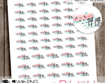 Cutting Machine, Functional Printable Stickers, Cutter Stickers, All Planner Styles, Planner Printable, Planner Stickers
