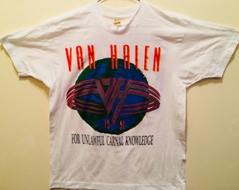 Van Halen  TourT-Shirt/1991