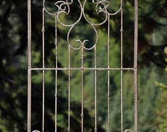 Metal Garden Trellis, Indoor Outdoor Screen, Wrought Iron, H Potter, Wall  Decor