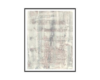 Neutral Beige Brown Blue Printable Art Print Vintage Faded Printable Abstract Gallery Wall Art Modern Minimalist 11 x 14 Instant Download