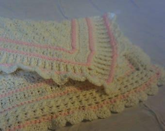Baby Girl Snuggle Blanket