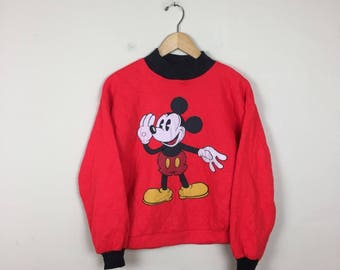 90s Mickey Mouse Sweater Size S/M