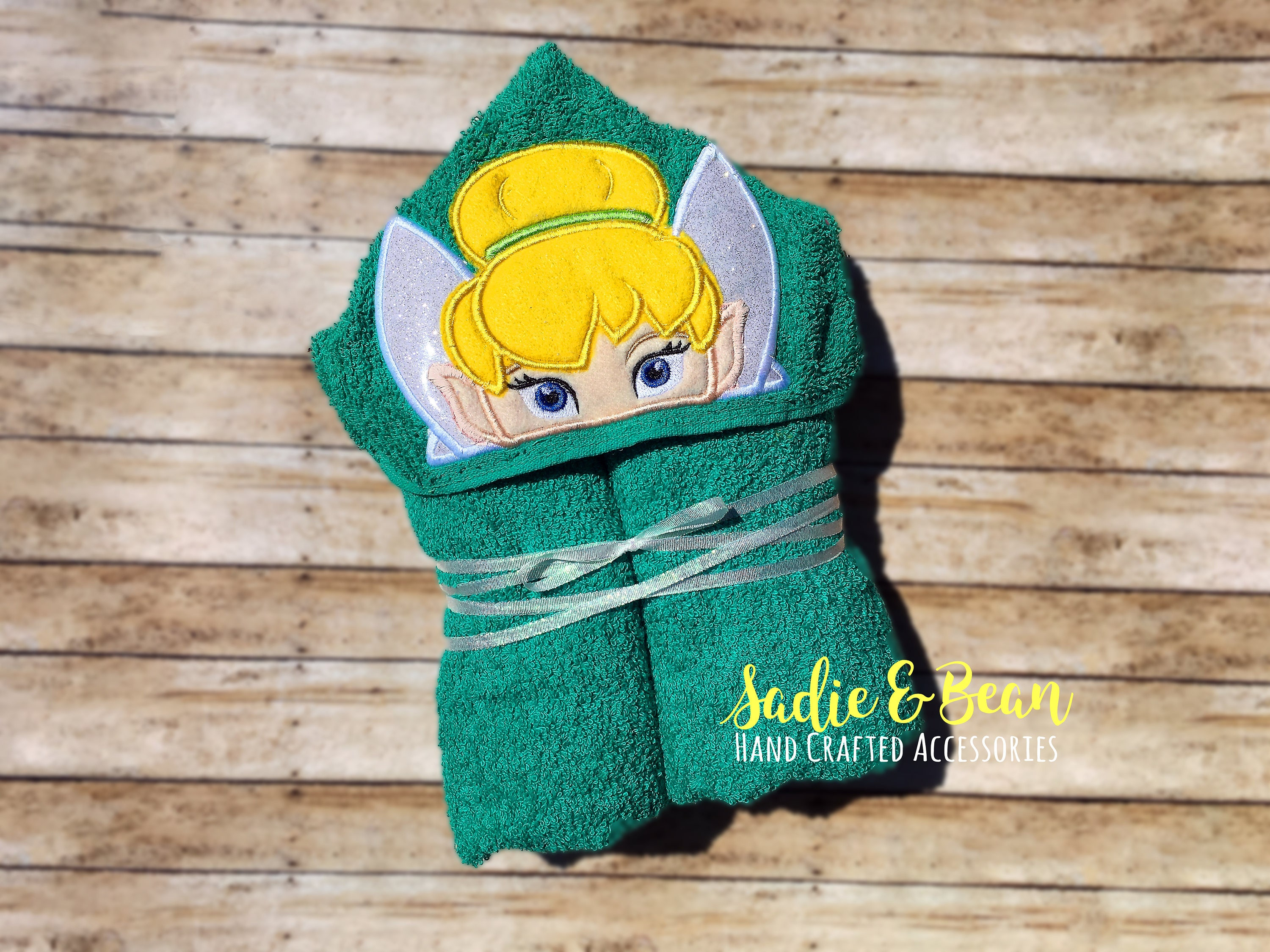 Personalized baby gifts hooded towels fairy baby gift request a custom order and have something made just for you negle Choice Image