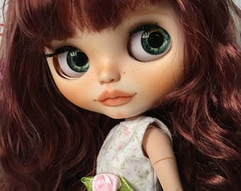 CELINA.custom blythe dolls Ooak.muneca customized... doll, custom... one doll artdoll sweety