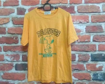 Vintage Snoopy Peanuts Shirt Friends Take Care Of Each Other