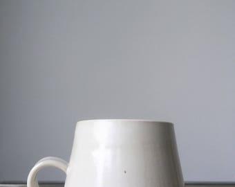 Pottery Mug | Handmade Mug | White Ceramic Mug