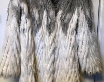 Faux Fur 1970's/1980's Coat