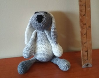 hand crocheted mini puppy