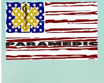 USA Paramedic Flag | Flag Svg | Paramedic Flag | Paramedic svg | Paramedic Dxf | Paramedic   | Svg | USA Flag | Flag   | USA Flag | Svg