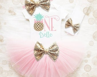 Pineapple 1st Birthday Outfit   Pineapple Birthday Outfit   Pineapple Birthday Shirt   Summer Birthday Outfit   Laau Birthday Shirt