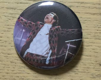 Harry Styles 2.25 inch Custom Pinback Button-Sept 2017 I Heart Radio Weekend