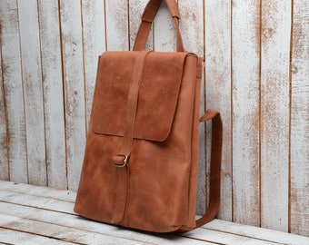 laptop bag  laptop backpack  leather backpacl  backpack  rucksack laptop rucksack Leather backpack / Leather rucksack / Womens backpack /