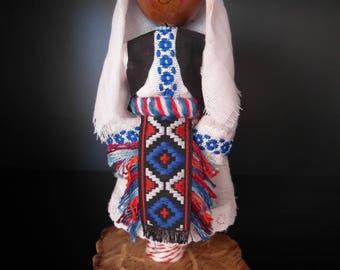 Doll in national Croatian costume / 17.5cm / Doll from Croatia / Interior doll / Decorative doll / Souvenir doll / Croation doll