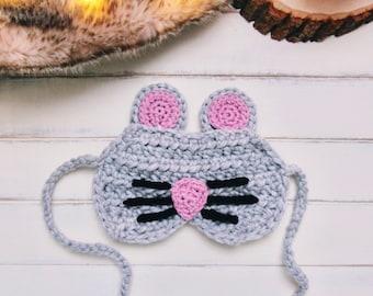 Mouse Beauty Sleep Mask- READY TO SHIP
