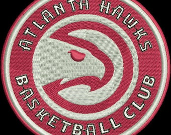 ATLANTA HAWKS embroidery
