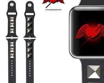 Spiked Apple Watch Band