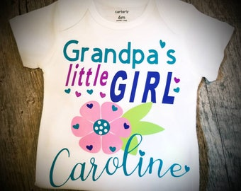 Personalized, Grandmas, Grandpas, Nannys, Gigi, Honey, ........... Little Girl, Monogrammed with Name